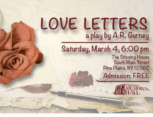 Special Event: Love Letters At Stissing House