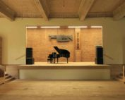 piano on stage at the Stissing Center